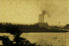Eerie Landscape 02 Original - Vintage Super8 Film Stock Footage