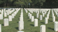 Florida National Cemetery Clip 7 Stock Footage