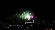 Stock Video Footage of 4th July Independence Day Fireworks
