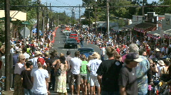 4th of july Parade - 6 of 8 - Time Lapse Stock Footage
