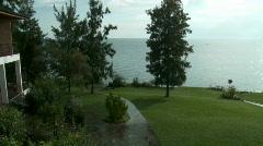 Serene Lake View Stock Footage
