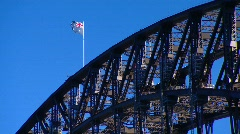 Sydney Harbour Bridge PT14 Stock Footage