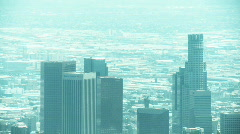Aerial Los Angeles 02 Stock Footage