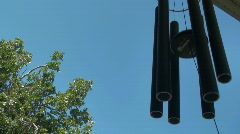 Wind chime* Stock Footage