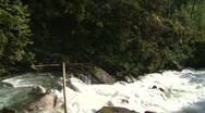 Wild turbulent river, #12 Stock Footage