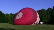Db hot air balloon Stock Footage