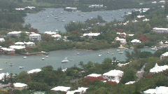 Bermuda in the Caribbean Stock Footage