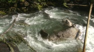 Wild turbulent river, #13 Stock Footage