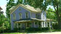 Michigan's vintage & historic homes Stock Footage