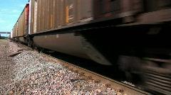 db endless train - stock footage