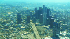 Aerial Los Angeles 01 Stock Footage