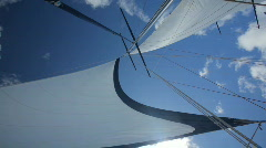 Big sails Stock Footage