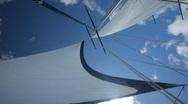 Big sails Stock Footage