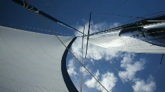 set sails - stock footage