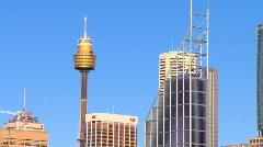 Sydney City CBD & Harbour PT17 Stock Footage