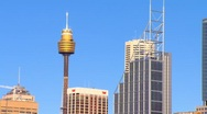 Stock Video Footage of Sydney City CBD & Harbour PT17