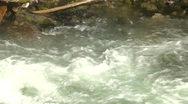 Wild turbulent river, #4 Stock Footage
