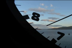 clock in time-lapse loop - stock footage