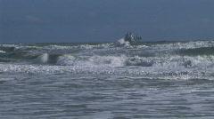 ship of the coast - stock footage