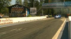 Motorsports, drag racing promod burnouts, Gen 5 camaro Stock Footage