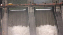 Hydroelectric dam Stock Footage