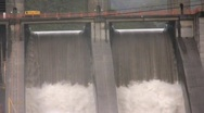 Stock Video Footage of Hydroelectric dam