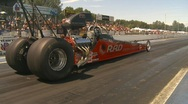 Stock Video Footage of motorsports, drag racing dragster hard launch... nice!