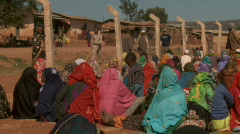 African Women Sitting Down 2 (HD) Stock Footage