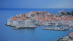 Dubrovnik before the storm Stock Footage