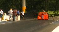 Stock Video Footage of Motorsports, drag racing, top end doorslammer burnout
