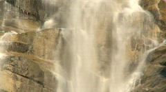 River and waterfall, Shannon Falls, #3 Stock Footage