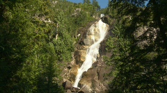 River and waterfall, Shannon Falls, #9 Stock Footage
