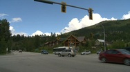 Stock Video Footage of Whistler condos town montage