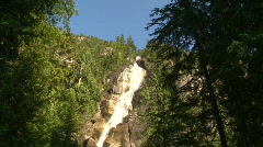 River and waterfall, waterfalls, Shannon Falls, #10 Stock Footage