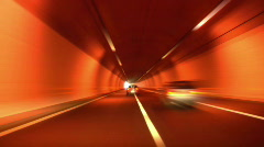 Tunnel abstract speed 04 Stock Footage
