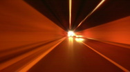 Tunnel abstract speed 05 Stock Footage