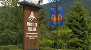 Stock Video Footage of whistler village montage