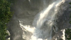 River and waterfall, Shannon Falls, #6 Stock Footage