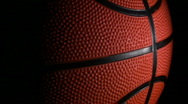 Basketball loop close-up - HD Stock Footage
