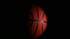 Basketball loop - HD Stock Footage
