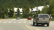 Stock Video Footage of whistler village, pan