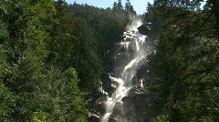 River and waterfall, Shannon Falls, #11 Stock Footage