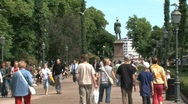 Downtown Helsinki  Stock Footage