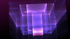 purple blue looping background d2467 L - stock footage