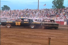 Demolition Derby 3  Stock Footage