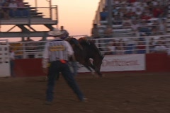 Bronc Busting 2 Stock Footage