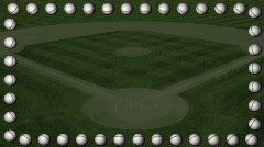 Db baseball 10 hd1080 marquee Stock Footage