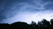 Stormy clouds Stock Footage