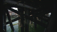 Stock Video Footage of UnderThePier