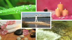 Wellness impression Stock Footage